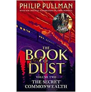 Cover image for the Book of Dust by Philip Pullman