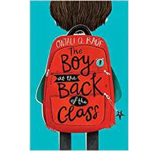 Cover image for The Boy at the Back of the Class by Onjali Q Rauf