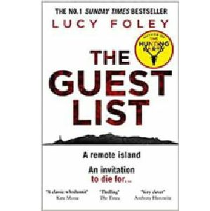 Cover image for The Guest List by Lucy Foley