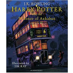 Cover image for Harry Potter and the Prisoner of Azkaban by J K Rowling, illustrated by Jim Kay