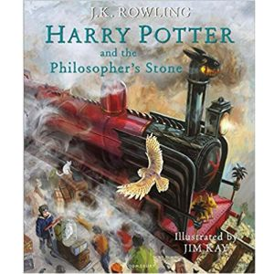 Cover Image of J K Rowling's Harry Potter and the Philosopher's Stone