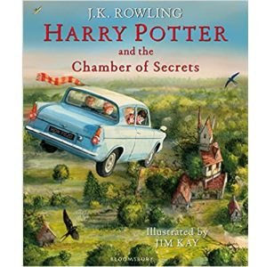 Cover image for Harry Potter and the Chamber of Secrets by J K Rowling and illustrated by Jim Kay