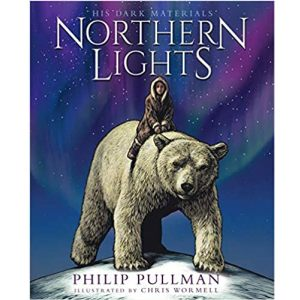 Cover image for Northern Lights by Philip Pullman illustrated by Chris Wormell
