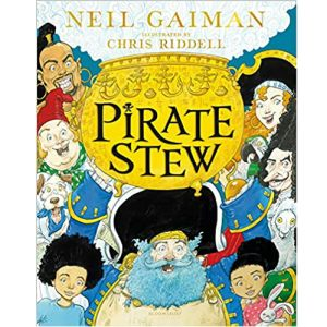 Cover image for Pirate Stew by Neil Gaiman illustrated by Chris Riddell