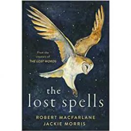 Cover image for the Lost Spells by Robert MacFarlane and Jackie Morris