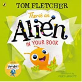 Cover image for 'There's an alien in your book'