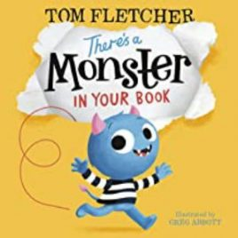 Cover Image 'There's a Monster in Your Book'