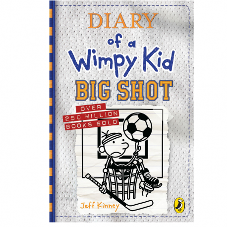 Cover Image for Diary of a Wimpy Kid Big Shot by Jeff Kinney