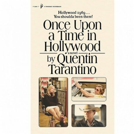 Cover Image for Once Upon a Time in Hollywood by Quentin Tarantino