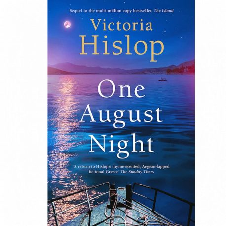 Cover Image for One August Night by Victoria Hislop