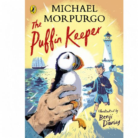 Cover Image for The Puffin Keeper by Michael Morpurgo and illustrated by Benji Davies