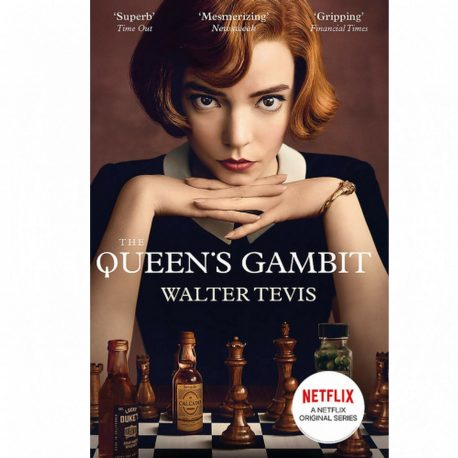 Cover for the Queen's Gambit by Walter Tevis